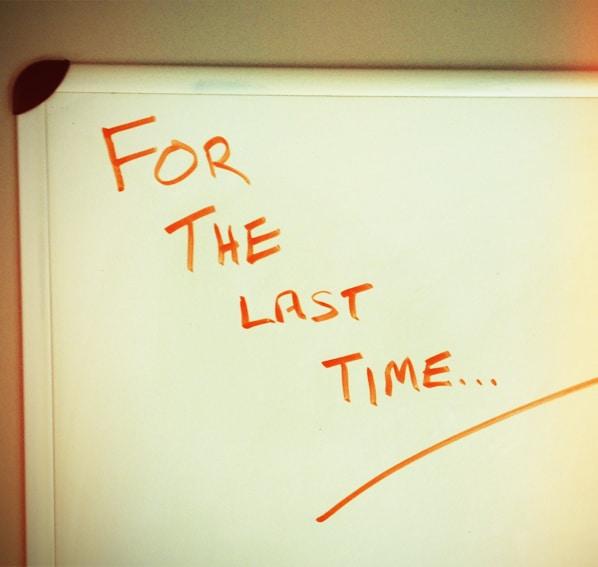ostatni raz